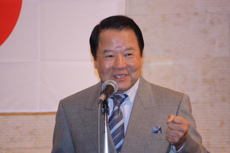 詹徳薫日本中華聯合総会名誉会長