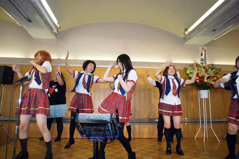 20131225_埼玉台湾総会による演舞、AKB48の「ヘビーローテーション」9