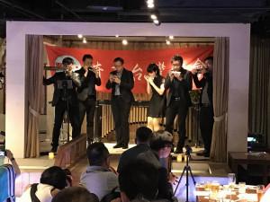 シリウスハーモニカ楽団の演奏技術及びメンバー間の呼吸は抜群でした。