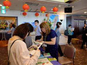 こちらは台湾留学のブース